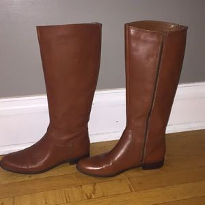 Beautiful Ciao Bella brown leather riding boots